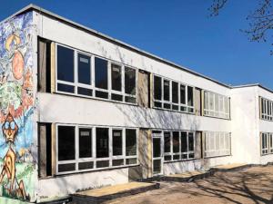 Sanierungsarbeiten der Musik Fabrik am Rabenhügel