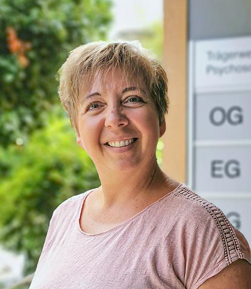 Kristin Schmidt, Leiterin Betreuungsdienst