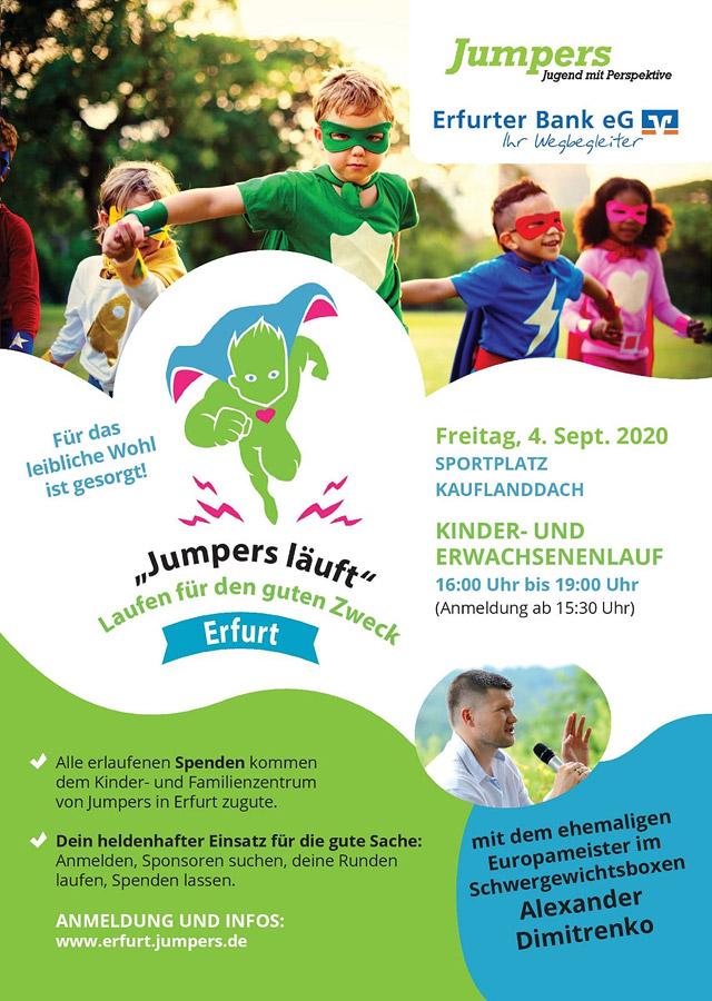 Jumpers läuft! - Laufen für den guten Zweck