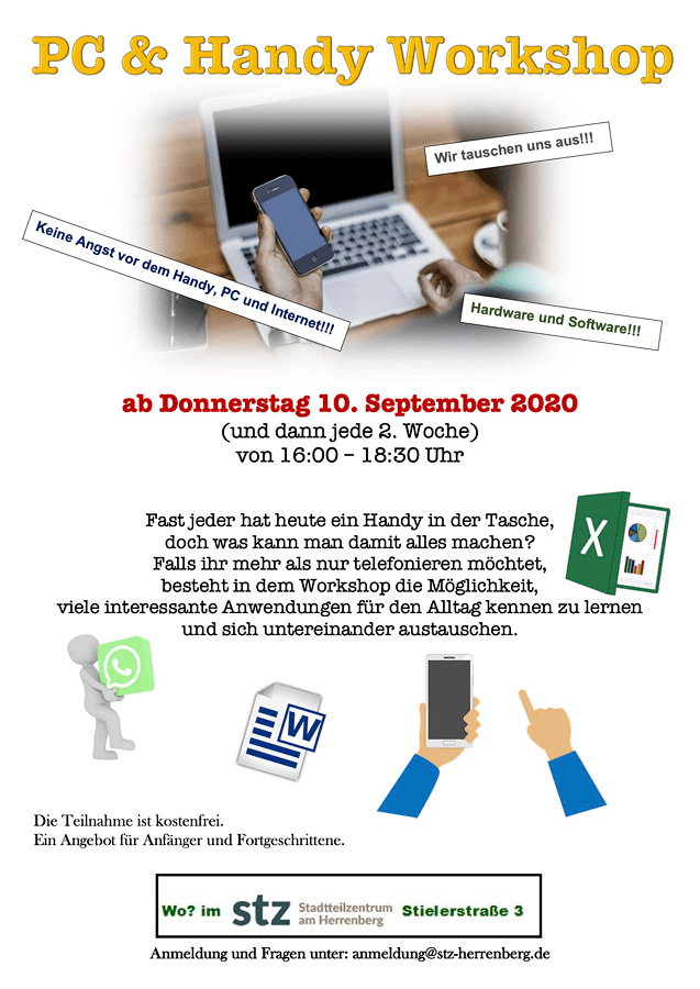 STZ - Angebote September 2020 - PC & Handy Workshop