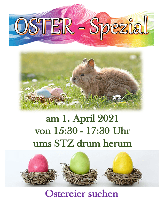 Oster-Spezial am 01. April 2021 - STZ am Herrenberg in Erfurt-Südost