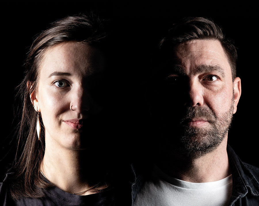 Lara Netsch und David Heinecke, Streetwork Süd beim Jugendamt Erfurt