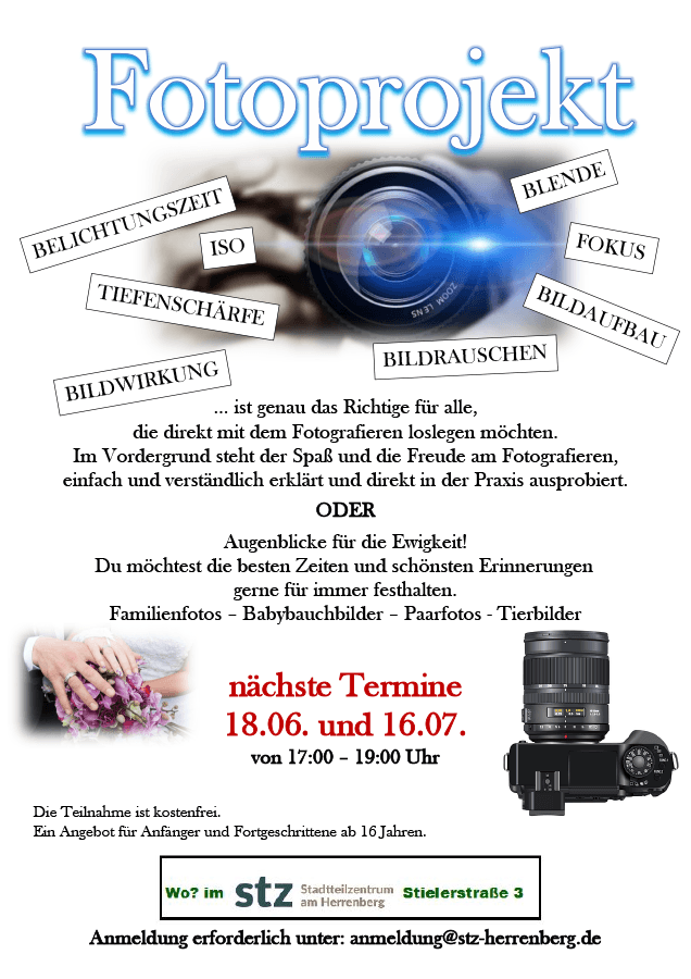STZ Herrenberg - Fotoprojekt im Juni/Juli 2021