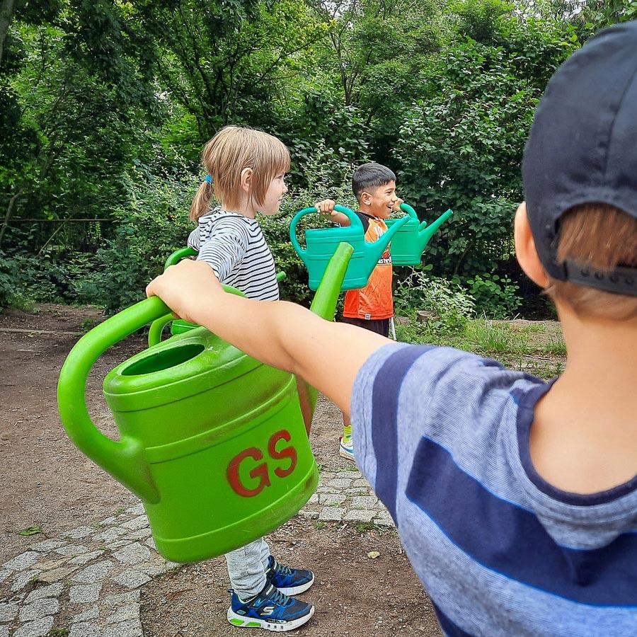 Kraftprobe – Sport-Spiel-Spaß der Grundschule 34 Erfurt-Wiesenhügel