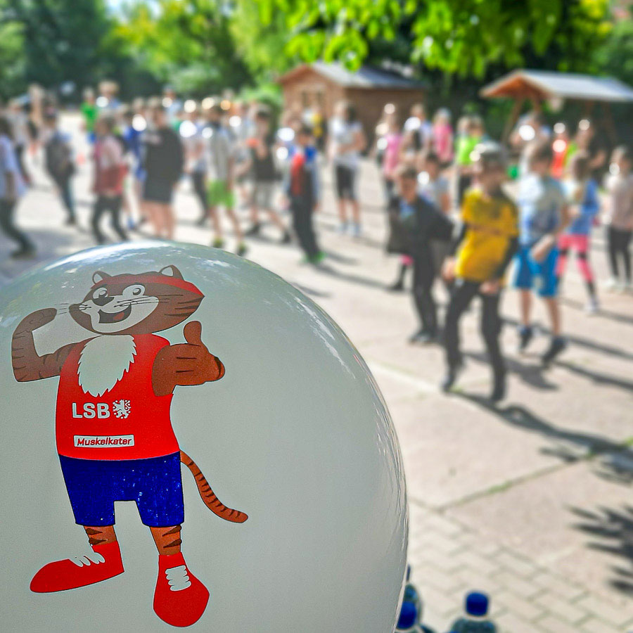 Muskelkater – Sport-Spiel-Spaß der Grundschule 34 Erfurt-Wiesenhügel